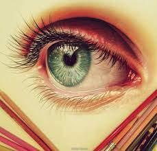 Eye Color Pencil Drawing By Morgan Davidson 6