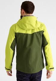 berghaus hybrid hardshell jacket forest bright lime men rain
