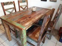 details zu essgruppe holztisch esstisch esstischset riverboat küchentisch tisch stühle