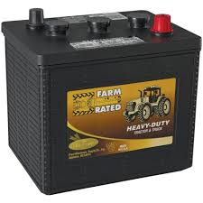 100 Heavy Duty Truck Battery Farm Rated Tractor 6V 24 Mo 640 CCA By Farm Rated At