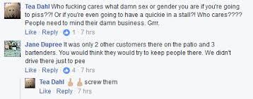 Quickie In The Bathroom by Frisky Frog U0027s Nashville Assumes Customer U0027s Gender Causes
