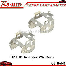 2 x h7 hid l bulbs retainer adapter holders for bmw audi