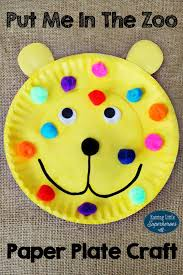 Put Me In The Zoo Paper Plate Craft Crafts For Kids