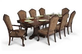majestic 9 piece dining set bob s discount furniture