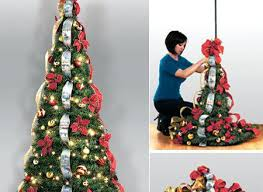 Pull Up Christmas Trees Decorated Sttammanyart Org