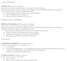 Legal Assistant Resume Cover Letter Gallery Of Best