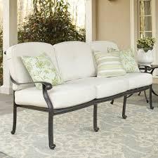 Cast Aluminum Patio Furniture With Sunbrella Cushions by Carrington Sofa With Sunbrella Cushions U0026 Reviews Birch Lane