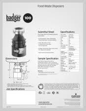 insinkerator badger 100 manual