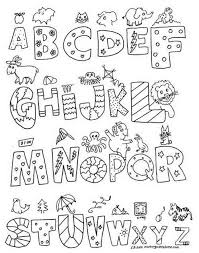 Alphabet Coloring Pages Az Image Gallery For Website