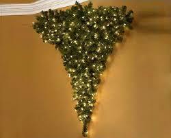 The Upside Down Wall Christmas Tree