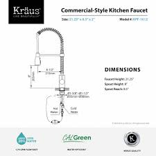 Used Commercial Pre Rinse Faucet by Kitchen Faucet Kraususa Com