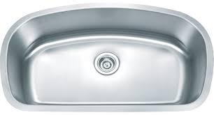 Karran Edge Undermount Sinks by Omni Omicron Large Single Bowl Stainless Steel Sink Om 3250 Domain