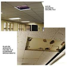 Asbestos Ceiling Tile Identification by Ceiling Tiles With Asbestos Harper Noel Homes Asbestos Ceiling