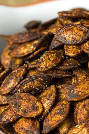 Roasting Pumpkin Seeds In The Oven Cinnamon by Cocoa Roasted Sweet And Salty Pumpkin Seeds Her Heart Is Vegan