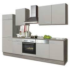 küchenblock sabia melamin sonoma trüffel 270 cm