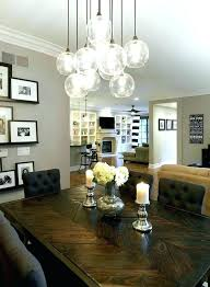 Dining Room Light Height Living Fixture Fixtures Home Stylish Lighting For