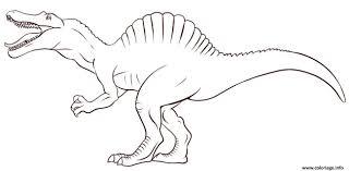 Coloriage A Imprimer Dinosaure T Rex