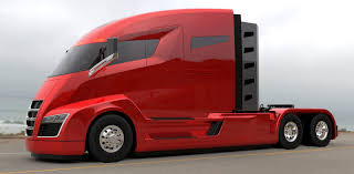 Tesla To Unveil A 200 To 300-miles Range Electric Semi Truck