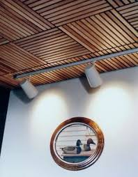 Rulon Wood Grille Ceiling by Armstrong High Noise Absorption Woodworks Grille Ceilings