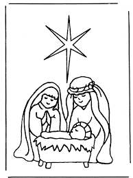 Christmas Coloring Pages The Nativity Story 5