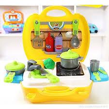 jeu de cuisine pour gar輟n jeu de la cuisine de la caisse d outils en plastique jeux de