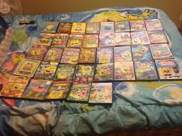 Spongebob Halloween Vhs And Dvd by The Brony U0027s Awesome U0026 Amazing Spongebob Collection Spongebob