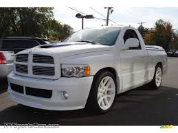 2005 Dodge Ram 1500 SRT-10 Regular Cab In Bright White - 858828 ... 2015 Ram 1500 Rt Hemi Test Review Car And Driver 2006 Dodge Srt10 Viper Powered For Sale Youtube 2005 For Sale 2079535 Hemmings Motor News 2004 2wd Regular Cab Near Madison 35 Cool Dodge Ram Srt8 Otoriyocecom Ram Quadcab Night Runner 26 June 2017 Autogespot Dodge Viper Truck For Sale In Langley Bc 26990 Bursethracing Specs Photos Modification Info 1827452 Hammer Time Truckin Magazine