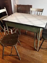 1940S Metal Kitchen Table