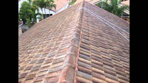 non pressure chemical tile roof cleaning delray fl 561 601