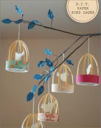 DIY Paper Bird Cage Party Decor
