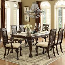 Ortanique Round Glass Dining Room Set by Ortanique Dining Table