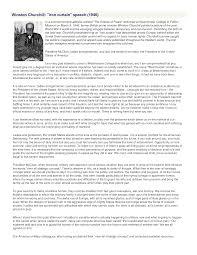 Winston Churchills Iron Curtain Speech by Churchill Iron Curtain Speech Cartoon