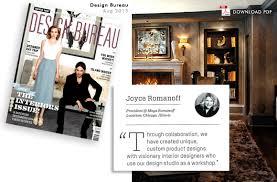 design bureau magazine romanoff featured in design bureau magazine the magical