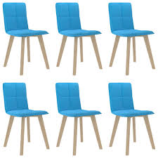 huberxxl esszimmerstühle 6 stk blau huberxxl shopping