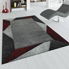 kurzflor teppich wohnzimmer bordüre