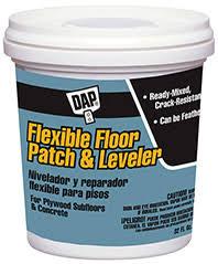 Wood Floor Leveling Filler by Flexible Floor Patch And Leveler Dap