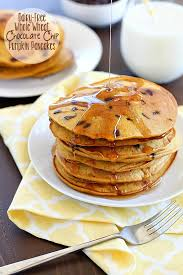 Pumpkin Pancakes With Gluten Free Bisquick by Dairy Free Whole Wheat Chocolate Chip Pumpkin Pancakes Yummy