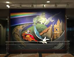 Denver International Airport Murals Removed by The Denver Conspiracy