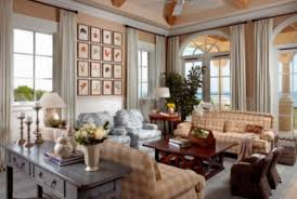 French Country Living Rooms Decorating by White Wall Color For French Country Living Room Decorating