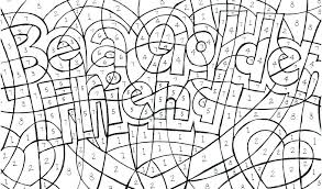 Color By Number Coloring Pages Printable Numbers Pics