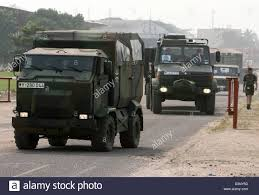 German Army Trucks Of The European Peace Keeping Force EUFOR RD ...