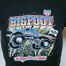 Bigfoot Monster Truck T Shirt Racinging Tee Ford Hot Rod Automobile ... Kids Rap Attack Monster Truck Tshirt Thrdown Amazoncom Monster Truck Tshirt For Men And Boys Clothing T Shirt Divernte Uomo Maglietta Con Stampa Ironica Super Leroy The Savage Official The Website Of Cleetus Grave Digger Dennis Anderson 20th Anniversary Birthday Boy Vintage Bday Boys Fire Shirt Hoodie Tshirts Unique Apparel Teespring 50th Baja 1000 Off Road Evolution 3d Printed Tshirt Hoodie Sntm160402 Monkstars Inc Graphic Toy Trucks American Bald Eagle