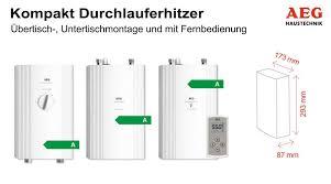 Durchlauferhitzer Für Die Küche Was Kompakt Durchlauferhitzer Pefra Regeltechnik