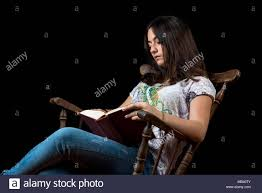 100 Rocking Chair With Books Teen Girl Reading Book Stock Photos Teen Girl Reading Book