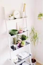 Making A Wooden Shelving Unit by Best 25 Ladder Shelves Ideas On Pinterest Ladder Desk Desk