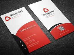 Simple Vertical Business Card Business Card Templates Creative