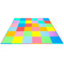 Prosource Tile Fort Worth by Amazon Com Prosource Kid U0027s Puzzle Solid Play Mat Sports U0026 Outdoors