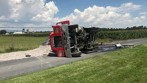 100 Dump Truck Drivers Truck Driver Charged After Crash Closing Road Knocking Out Power
