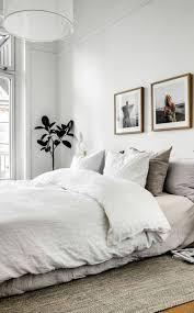 trends schlafzimmer bettvorleger idee neutrale farben