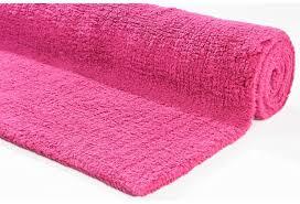 tom tailor badteppich cotton uni 240 pink